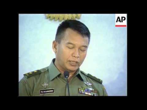 Jakarta announces martial law in Aceh