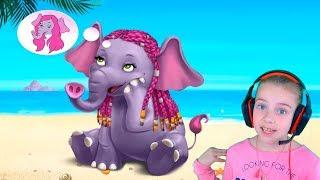 ПРИЧЕСКА ЧЕЛЛЕНДЖ в салоне красоты для животных Игра для детей