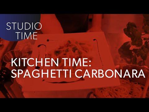 KITCHEN TIME with Junkie XL - Spaghetti Carbonara