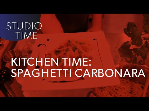 KITCHEN TIME with Junkie XL - Spaghetti Carbonara