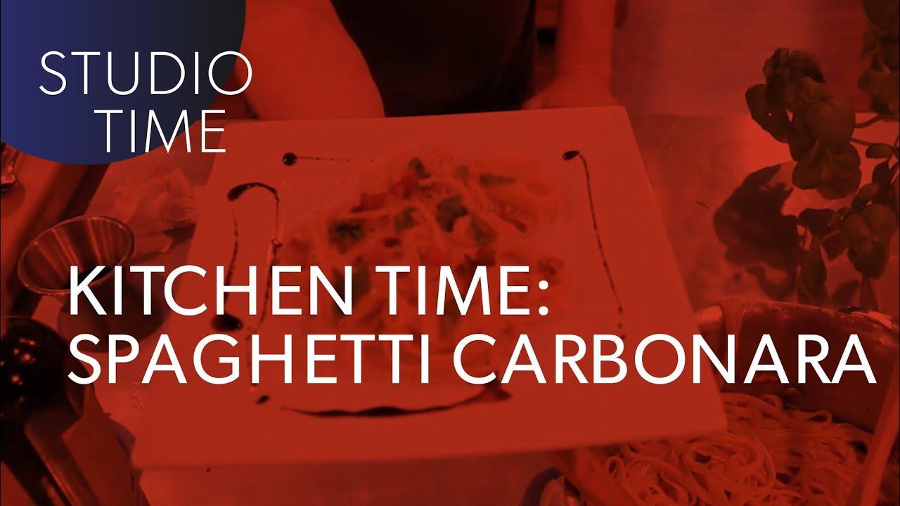 KITCHEN TIME with Junkie XL   Spaghetti Carbonara