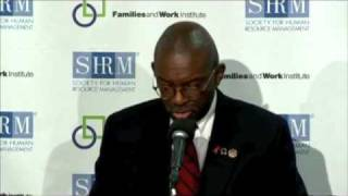 Moving Work Forward press conference - Ted Childs Jr. (Ted Childs LLC)