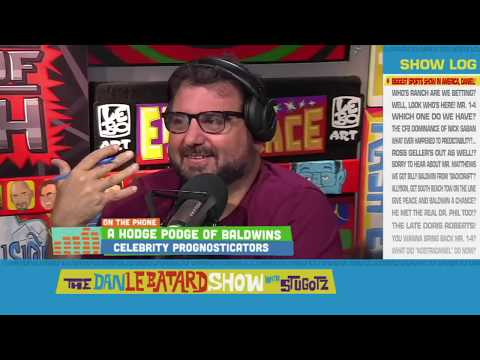 Celebrity Prognosticator - Billy Baldwin (via Daniel Baldwin) - Sep 14, 2018