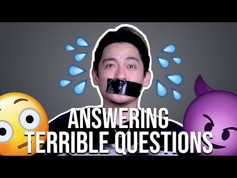 Vincent Sin Answers Terrible Questions