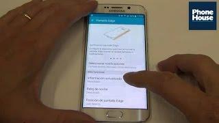 TIP: Cómo activar y configurar la pantalla lateral en tu Samsung Galaxy S6 Edge