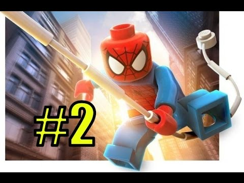 Мультик LEGO Marvel Super Heroes на русском языке - 2 серия - ВЫХОДНОЙ НА ТАЙМС-СКВЕР