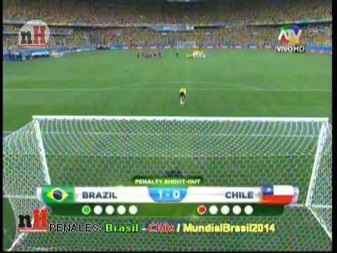PENALES BRASIL -3- CHILE -2- [OCTAVOS DE FINAL]