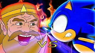 King VS Hedgehog