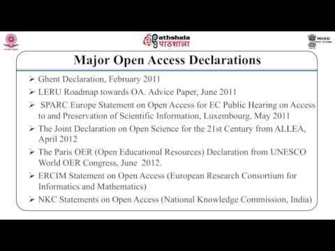 Open access and digital library (LIS)