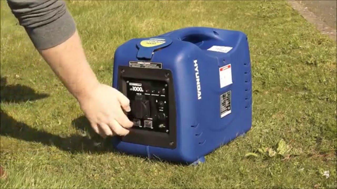 генератор hyundai hy1000si