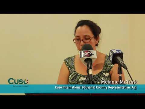 Introducing New Cuso Volunteers to Guyana