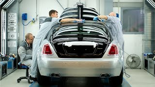 Rolls-Royce FACTORY - Assembly Line The Most Expensive Cars