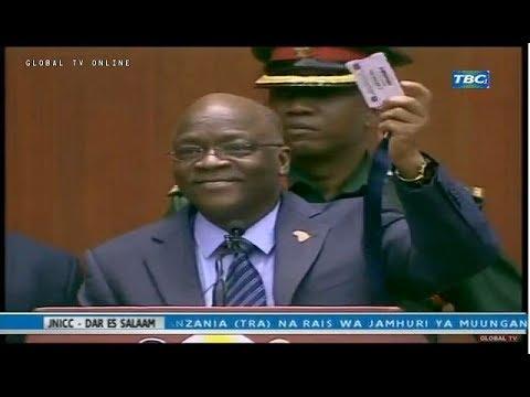 JPM Katengeneza Mwenyewe Vitambulisho vya Machinga!