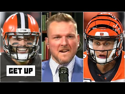 Pat McAfee reacts to the Baker Mayfield vs. Joe Burrow matchup   Get Up