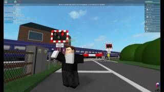 Wadbrough Level crossing roblox with friends.