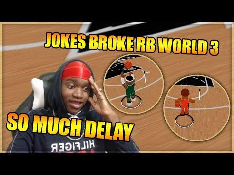 JOKES BROKE RB WORLD 3 - SO MUCH DELAY - ROBLOX Gameplay Video