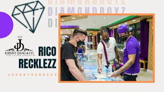 Rico Recklezz, Brick, & Maxo Kream Go On A Crazy Shopping Spree At Johnny Dang's and Houston Closet