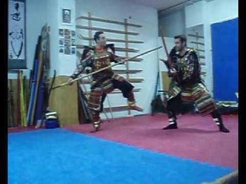 Sōjutsu (槍術) / Yari Jutsu [The Art of Spear] Kasumi no Ho