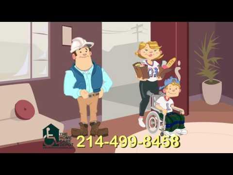 HCD animation cartoon home care