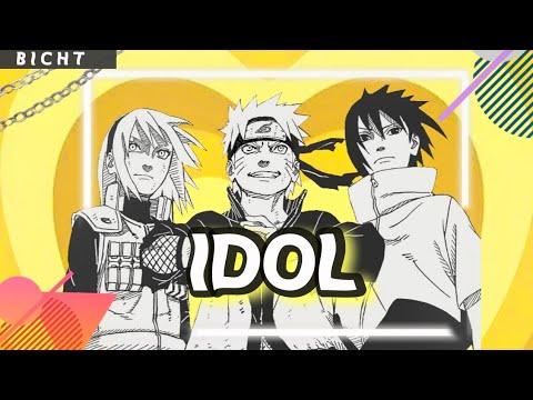Idol / Naruto (AMV)❤* BTS ✨🙌
