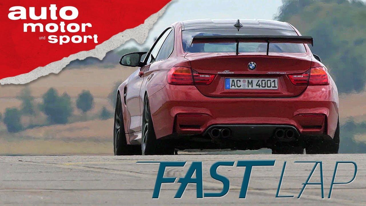 AC Schnitzer ACS4: Ein BMW M4 in brutal! - Fast Lap | auto motor und sport