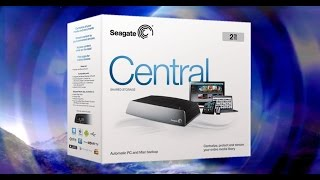 Seagate Central NAS Hard Drive, Unboxing, Setup & Review