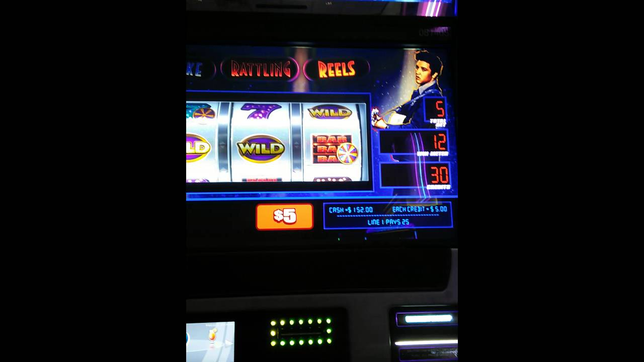 Elvis shake rattle and roll slot german roulette game machine