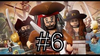 [PS3]LEGO Pirates Of The Caribbean. Прохождение #6 «Пелегосто»
