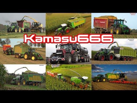 Best of 2019 Kamasu666 Compilation / John Deere / Fiatagri / Fendt / Claas / Massey Ferguson / NH