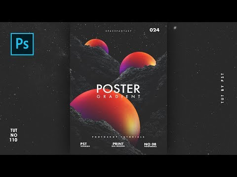 How To Create Aesthetic Gradient Ball Poster Like Xemrind - Photoshop Tutorials