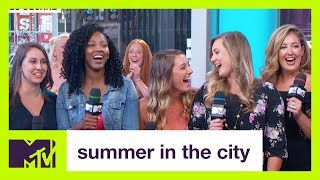 Guy Who Got Exposed on Twitter by His 6 Dates Finally Faces the Women | Summer in the City | MTV