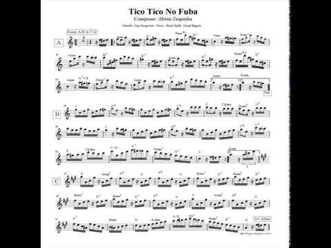 Nota Akor Eşlik-Tico Tico (Play Along-Playback) La -86 bmp