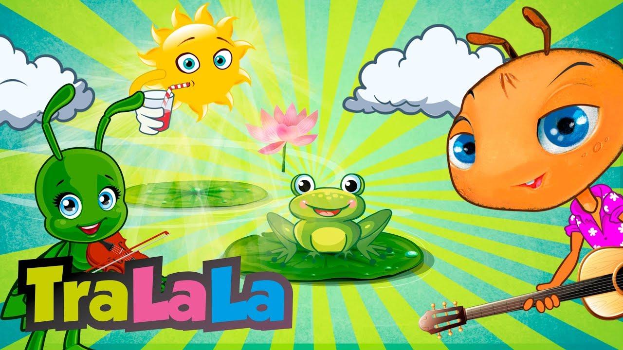 Zilele săptămânii -  Cântece educative pentru copii de grădiniță TraLaLa