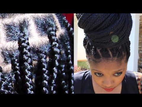 2014 healthy no knots box braids on short hair no breakage grow healthy hair youtube