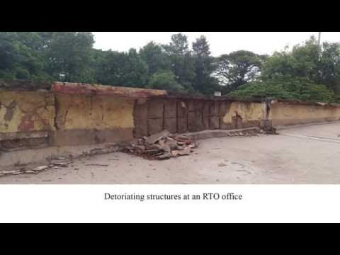 Government buildings in Bangalore in a bad shape