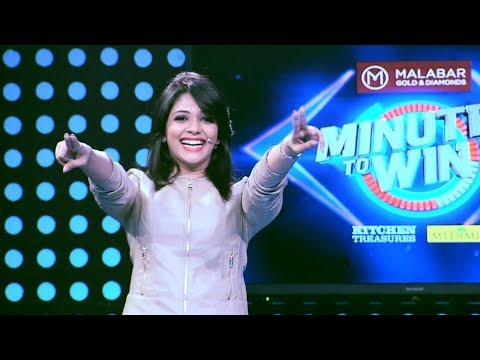 Minute to win it | Ep 57 - More exciting minutes are here l | Mazhavil Manorama