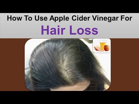 How To Use Apple Cider Vinegar For Hair Loss - Apple Cider Vinegar And Baking Soda Hair Pack