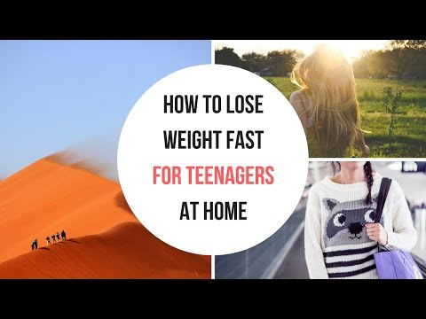How to lose weight fast for teenagers at home | 3 week diet plan | lose 23lbs in 21 days | easy diet