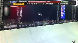 Ayumu Hirano Snowboard SuperPipe Silver - Winter X Games