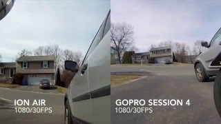 GoPro Session 4 VS. Ion Air