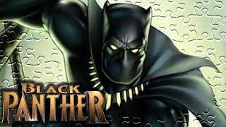 BLACK PANTHER (Marvel Superhero) Jigsaw Puzzle Game