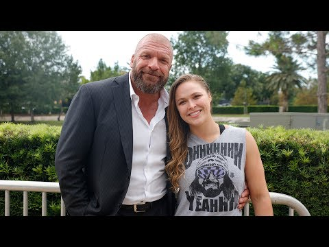 Ronda Rousey arrives at the WWE Mae Young Classic taping: Ju