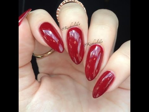 Almond Stiletto Nail Shaping Tutorial How To Maintain It