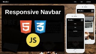 Download lagu Responsive Navbar with HTML CSS and JavaScript MP3