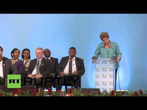Brazil: Rousseff announces $100 billion reserve for new BRICS Bank