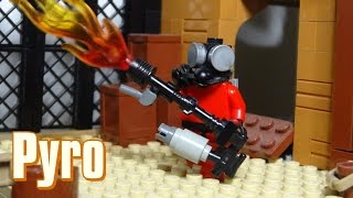 How To Build A Lego Team Fortess 2 Pyro