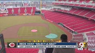 Reds Select-A-Seat event: close friends to prepare for 2015 season