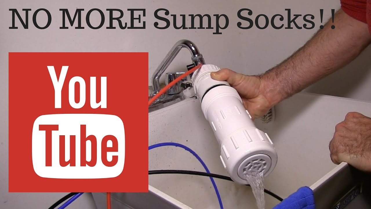 sump sock filtration is history filter prototype in saltwater