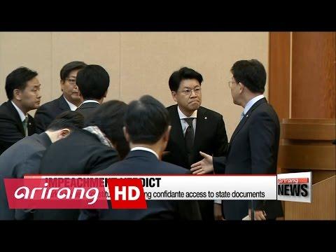 Constitutional Court announces unanimous decision to impeach Pres. Park