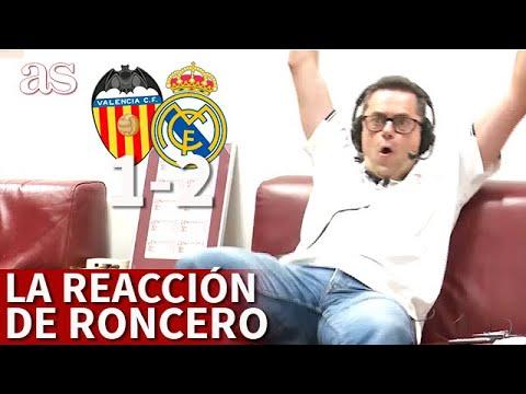 Download VALENCIA 1 REAL MADRID 2 | La reacción de RONCERO la remontada del MADRID | AS
